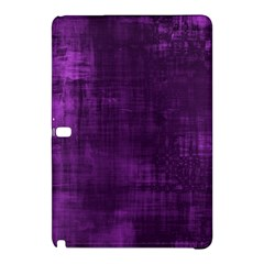 Fabric In Purple Samsung Galaxy Tab Pro 10 1 Hardshell Case by FEMCreations