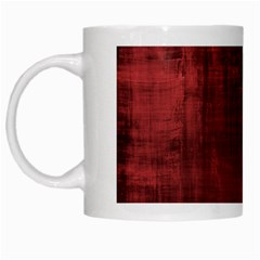 Fabric In Red White Mugs