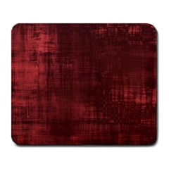 Fabric In Red Large Mousepads by TimelessDesigns