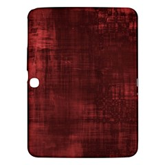 Fabric In Red Samsung Galaxy Tab 3 (10 1 ) P5200 Hardshell Case