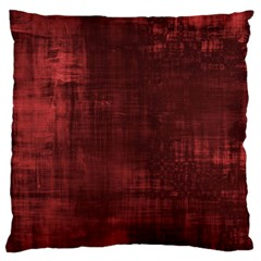 Fabric In Red Large Flano Cushion Case (two Sides)