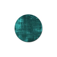 Fabric In Turquoise Golf Ball Marker (4 Pack)
