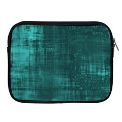 Fabric In Turquoise Apple Ipad 2/3/4 Zipper Cases by TimelessDesigns