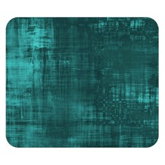 Fabric In Turquoise Double Sided Flano Blanket (small)