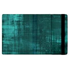 Fabric In Turquoise Apple Ipad Pro 12 9   Flip Case by TimelessDesigns