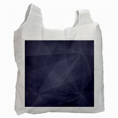 Dark In Grey  Recycle Bag (two Side)