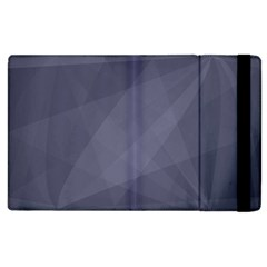 Dark In Grey  Apple Ipad 2 Flip Case by FEMCreations