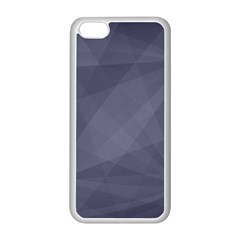 Dark In Grey  Apple Iphone 5c Seamless Case (white) by TimelessDesigns