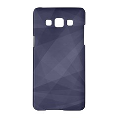 Dark In Grey  Samsung Galaxy A5 Hardshell Case  by TimelessDesigns