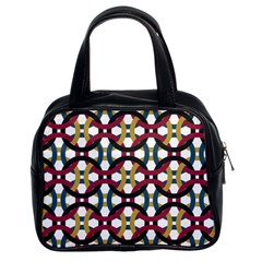 Entanglement Of Circles Classic Handbag (two Sides)