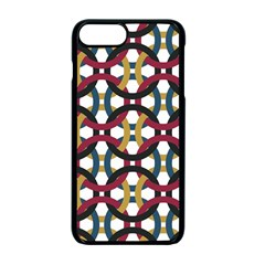Entanglement Of Circles Apple Iphone 7 Plus Seamless Case (black)