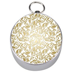Floral Design In Gold  Silver Compasses by TimelessFashion
