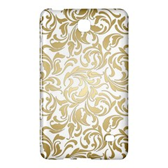 Floral Design In Gold  Samsung Galaxy Tab 4 (7 ) Hardshell Case