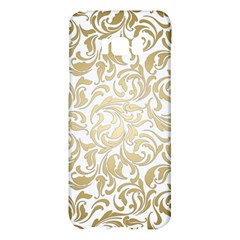 Floral Design In Gold  Samsung Galaxy S8 Plus Hardshell Case