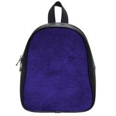 Fluffy Blue School Bag (small)