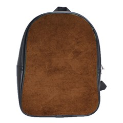Fluffy Brown School Bag (large)