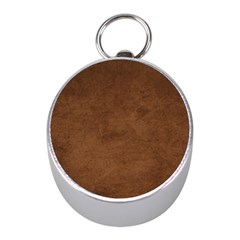 Fluffy Brown Mini Silver Compasses