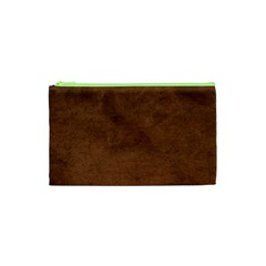 Fluffy Brown Cosmetic Bag (xs)