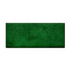 Fluffy Green Hand Towel
