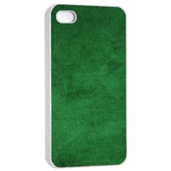 Fluffy Green Apple Iphone 4/4s Seamless Case (white) by TimelessDesigns