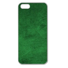 Fluffy Green Apple Seamless Iphone 5 Case (clear)