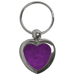 Fluffy Purple Key Chains (heart)  by TimelessFashion