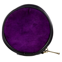 Fluffy Purple Mini Makeup Bag by TimelessFashion