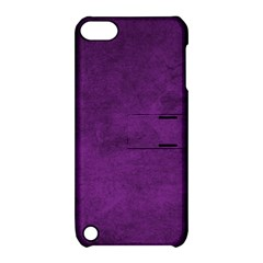 Fluffy Purple Apple Ipod Touch 5 Hardshell Case With Stand