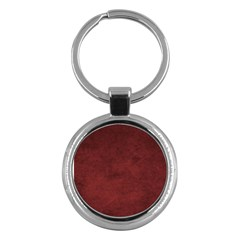 Fluffy Red Key Chains (round)  by TimelessFashion