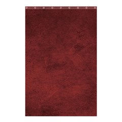 Fluffy Red Shower Curtain 48  X 72  (small)  by TimelessDesigns