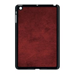Fluffy Red Apple Ipad Mini Case (black)