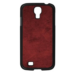 Fluffy Red Samsung Galaxy S4 I9500/ I9505 Case (black)