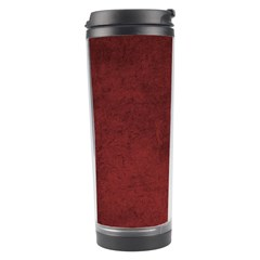 Fluffy Red Travel Tumbler