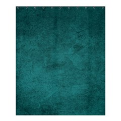 Fluffy Turquoise Shower Curtain 60  X 72  (medium)  by TimelessDesigns