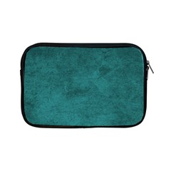 Fluffy Turquoise Apple Ipad Mini Zipper Cases