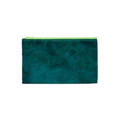 Fluffy Turquoise Cosmetic Bag (xs)