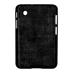 Leather Black  Samsung Galaxy Tab 2 (7 ) P3100 Hardshell Case