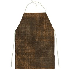 Leather Brown Full Print Aprons by TimelessDesigns