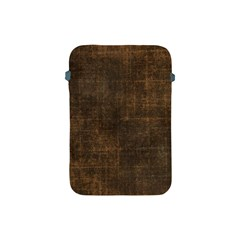 Leather Brown Apple Ipad Mini Protective Soft Cases