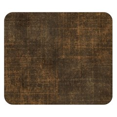 Leather Brown Double Sided Flano Blanket (small)