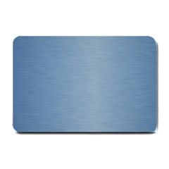 Metallic Blue Small Doormat  by TimelessDesigns