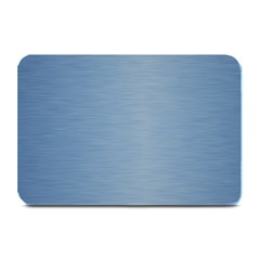 Metallic Blue Plate Mats by TimelessDesigns