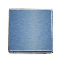 Metallic Blue Memory Card Reader (square 5 Slot)