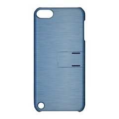 Metallic Blue Apple Ipod Touch 5 Hardshell Case With Stand