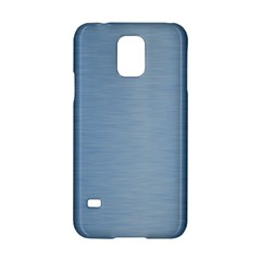 Metallic Blue Samsung Galaxy S5 Hardshell Case  by TimelessDesigns