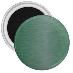 Metallic Green 3  Magnets by FEMCreations