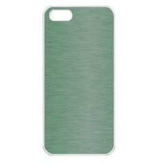 Metallic Green Apple Iphone 5 Seamless Case (white) by TimelessDesigns