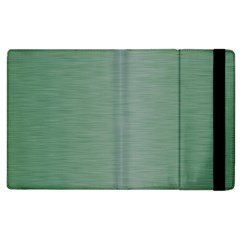 Metallic Green Apple Ipad 2 Flip Case by FEMCreations