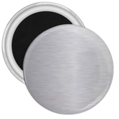 Metallic Grey 3  Magnets by FEMCreations