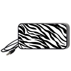 Zebra Prin Portable Speaker by FEMCreations